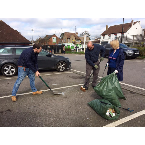 Daws Lane clean up