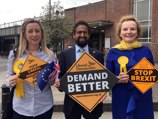 Donna Pickup, Sachin Patel, Clareine Enderby Stop Brexit